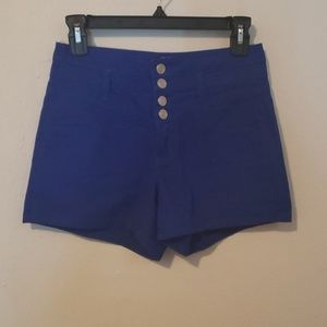 BODY CENTRAL HIGH RISE SHORT